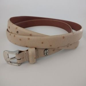 Lauren Ralph Lauren Speckled Leather Belt, Large